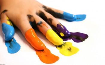 Как научить ребенка различать цвета