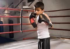 Бокс и ребенок