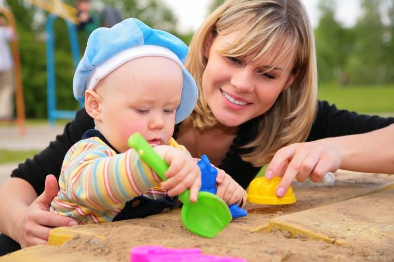 Развивающие игры на улице, для детей 2-3 лет